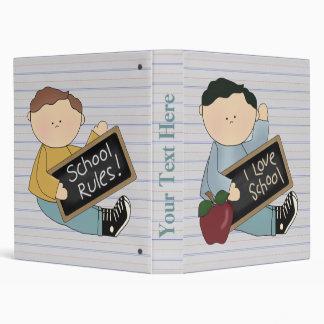 Boys School Notebook Binder