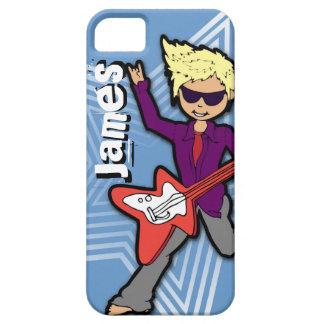 Boys short name rockstar kids iphone case