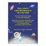 Boys Space Theme Birthday Card