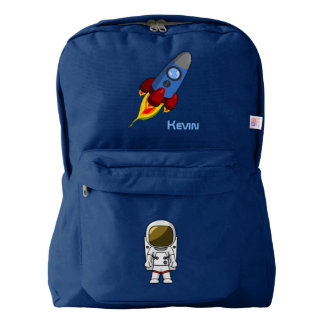 Boy's Space Themed Personalized Backpack
