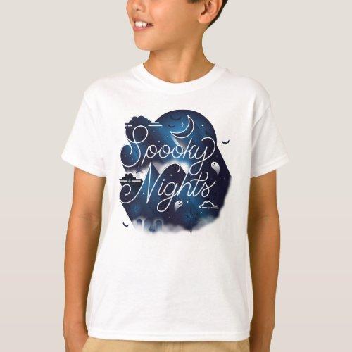 Boys Spooky Nights II T_Shirt  White