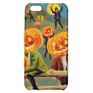 Boys Stealing Pumpkin Jack O' Lantern Cover For iPhone 5C