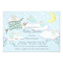 Boys Sweet Dreams Baby Shower Invitation