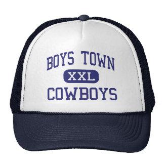 Boys Town - Cowboys - High - Boys Town Nebraska Trucker Hat