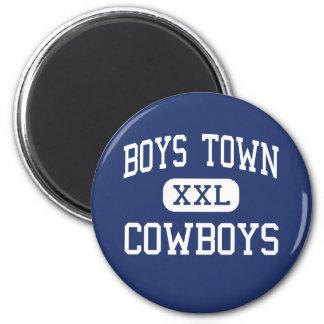 Boys Town - Cowboys - High - Boys Town Nebraska 2 Inch Round Magnet
