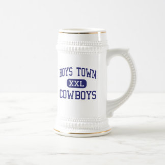 Boys Town - Cowboys - High - Boys Town Nebraska 18 Oz Beer Stein