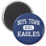 Boys Town - Eagles - High - Boys Town Nebraska Refrigerator Magnets
