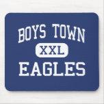 Boys Town - Eagles - High - Boys Town Nebraska Mouse Mats