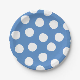 Boys Toys Birthday Party Polka Dots Paper Plates