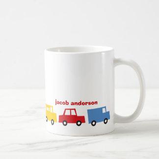 Boy's Toys Car Bus Truck Fun Colorful Gift Mug