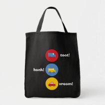 Boy's Toys Colorful Fun Cute Custom Gift Tote Bag
