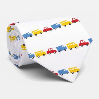 Boy's Toys Fun Cute Car Bus Truck Gift Favors Tie