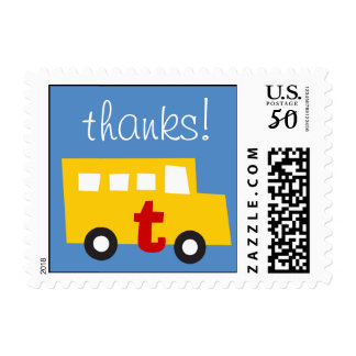 Boy's Toys Fun Cute Thank You Gift Stamp / Postage
