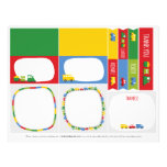 Boys Toys Kid's Birthday Party Decoration Set 02 Flyer Design
