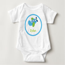 Boys Transportation Airplane Baby T-Shirt