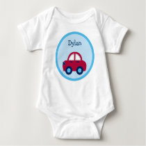 Boys Transportation Car Baby T-Shirt