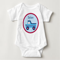 Boys Transportation Truck Baby T-Shirt