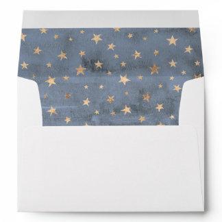 Boy's Twinkle Twinkle Little Star Envelope Liner