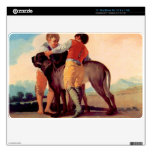 Boys with blood dogs by Francisco de Goya MacBook Air Decal
