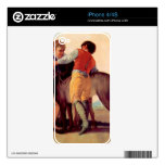 Boys with blood dogs by Francisco de Goya Decals For iPhone 4