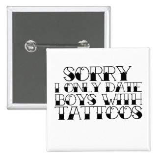 Boys with Tattoos Pins