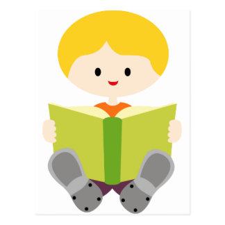 BoysBookCP4 Postcard