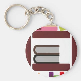 BoysBookCP9 Basic Round Button Keychain