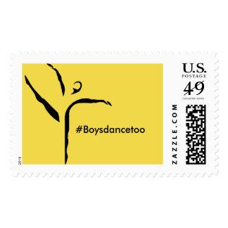#Boysdancetoo the movement stamp