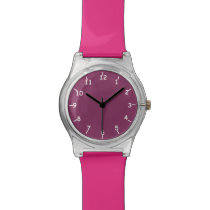 Boysenberry Pink Watch