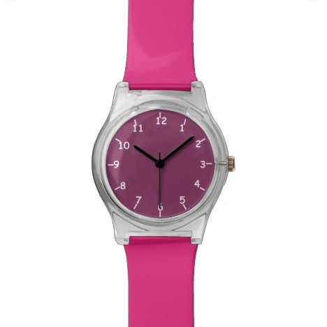 Boysenberry Pink Watch