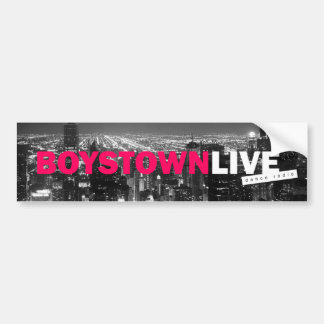 Boystown vivo - pegatina para el parachoques pegatina para auto