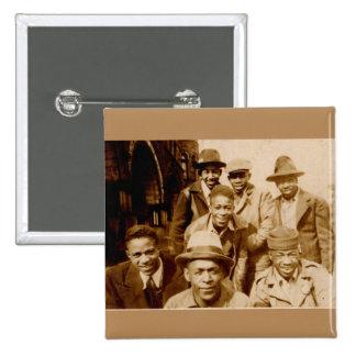 boyz de los años 30 de la capilla RPPC Pin Cuadrado