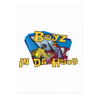 Boyz en capilla de DA Postales