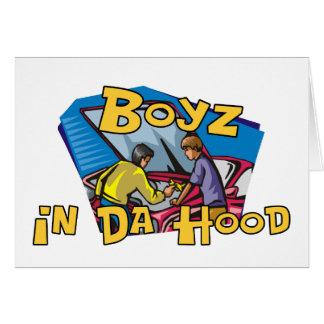 Boyz en capilla de DA Tarjeta De Felicitación