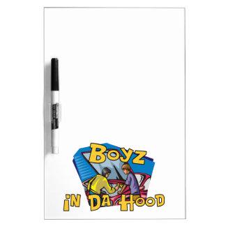 Boyz In Da Hood Dry-Erase Board