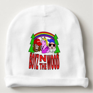 Boyz In The Wood Baby Beanie