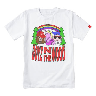 Boyz In The Wood Zazzle HEART T-Shirt