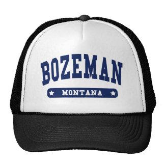 Bozeman Montana College Style t shirts Hats