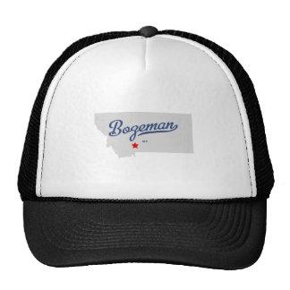Bozeman Montana MT Shirt Mesh Hats