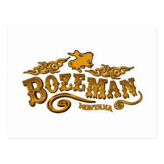 Bozeman Saloon Postcard