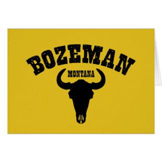 Bozeman Steer Card
