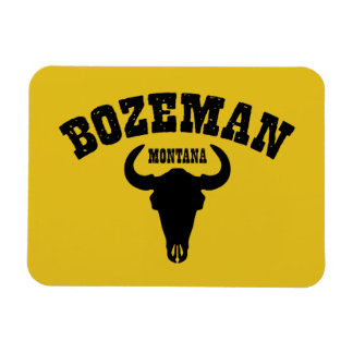 Bozeman Steer Magnet