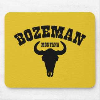 Bozeman Steer Mouse Pad