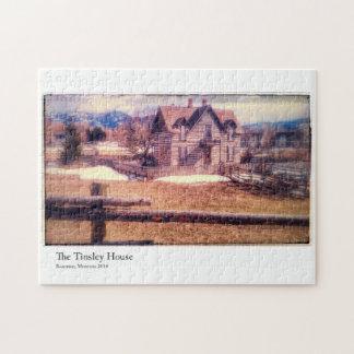 Bozeman Tinsley House 10x14 Photo Puzzle
