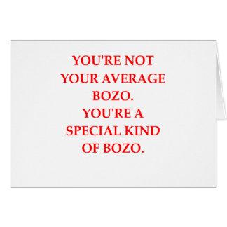 BOZO CARD