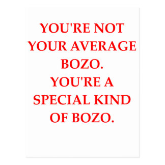 BOZO POSTCARD