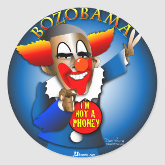 Bozobama Classic Round Sticker