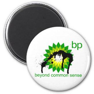 BP -  Beyond Common Sense 2 Inch Round Magnet