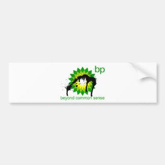 BP -  Beyond Common Sense Bumper Sticker