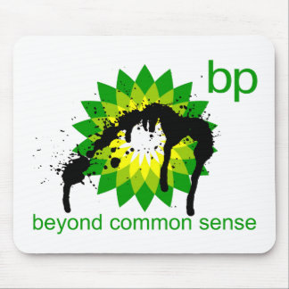 BP -  Beyond Common Sense Mouse Pad